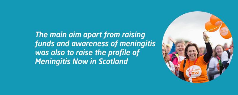 Kiltwalk for Meningitis Now