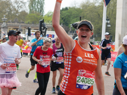Meningitis Now fundraising event London Marathon 2020 Thank You LB