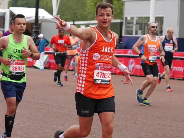 Meningitis Now fundraising event London Marathon 2021 - generic LB