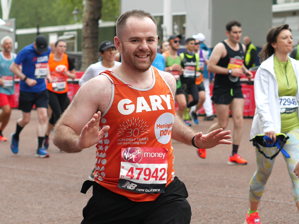 Meningitis Now fundraising event London Marathon 2021 - generic LB 2