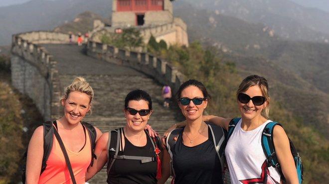 Overseas fundraising China trek for Meningitis Now