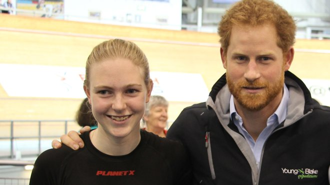 Lauren Booth and Prince Harry