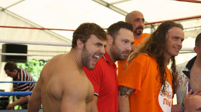 Leigh Arms wrestlers
