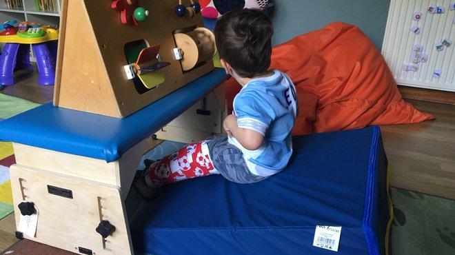 Leo supported by Meningitis Now rebuilding futures fund