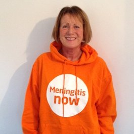 Meningitis Now Community Ambassador Lesley Leaver