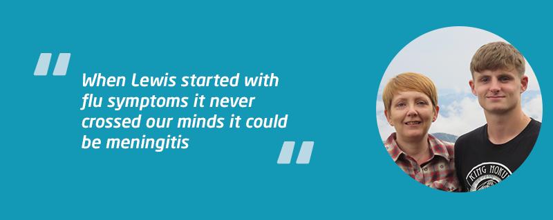 Lewis MenB bacterial meningitis case study