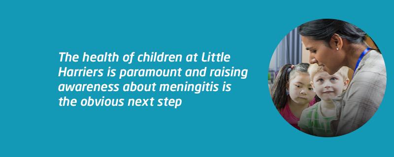 Little Harriers MARM meningitis aware
