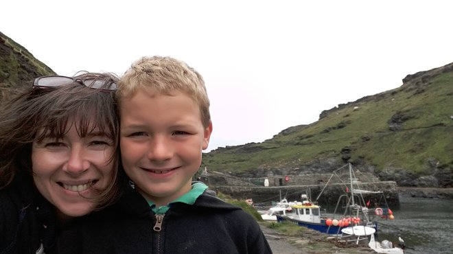 Liz Dee shares grief of losing a child to meningitis - Liz and Edward