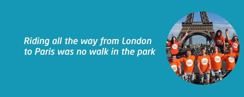 London Paris Ride