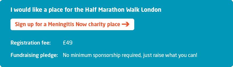 London Marathon Walk Half Sign up