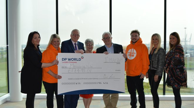 DP World Meningitis Now fundraisers
