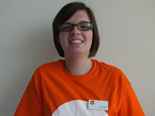 Meningitis Now Young Ambassador Louise
