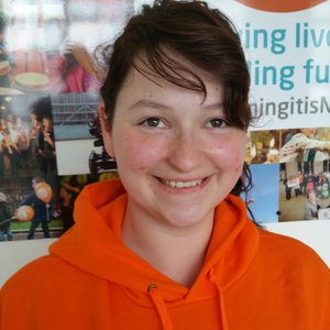 Meningitis Now Young Ambassador Louise Greer