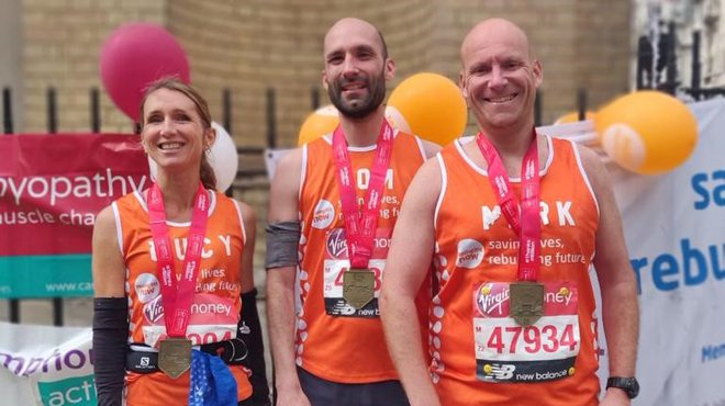 Lucy Harvey London Marathon experience for Meningitis Now blog