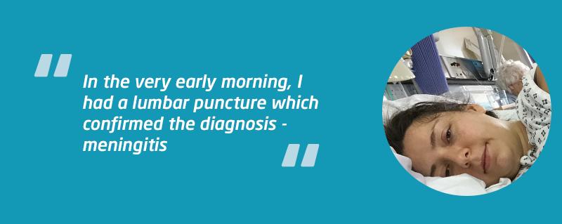 Lucy W bacterial meningitis case study