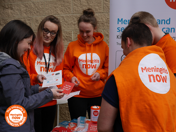 Meningitis awareness - MARM Uni link box 1 Raising Awareness