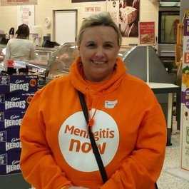Meningitis Now Community Ambassador Margaret McClaren