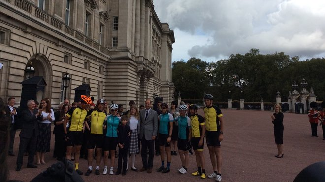 Meningitis Now Royal Patron Countess of Wessex cycle challenge