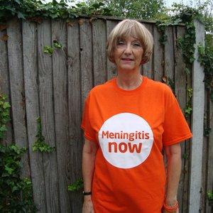 Meningitis Now Community Ambassador Mary Garley