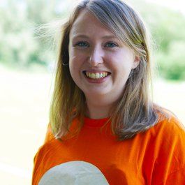 Meningitis Now staff member Megan Thompson