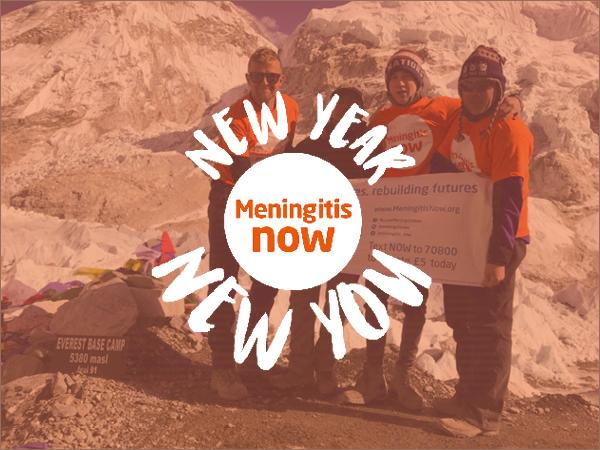Meningitis Now - New Year New You 2020 - Link Box Overseas