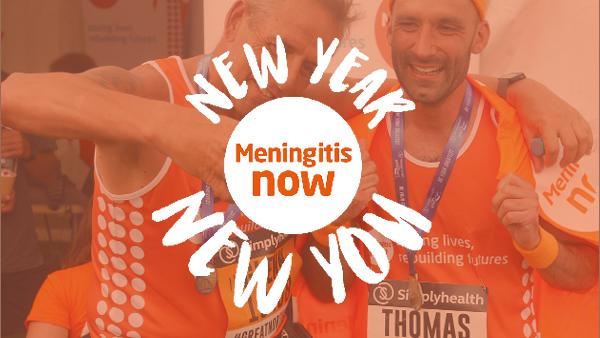 Meningitis Now - New Year New You 2020 - Link Box Great North Run