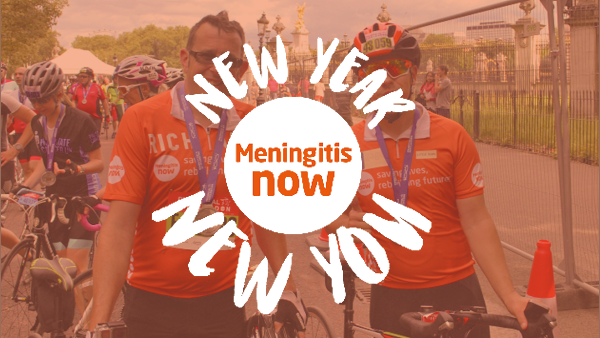 Meningitis Now - New Year New You 2020 - Link Box RideLondon