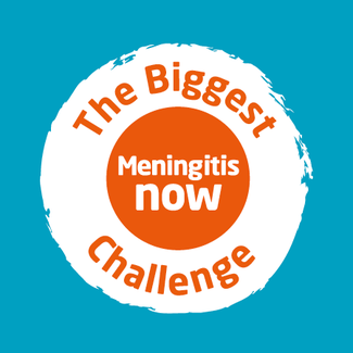 Meningitis Now Biggest Challenge fundraiser link box