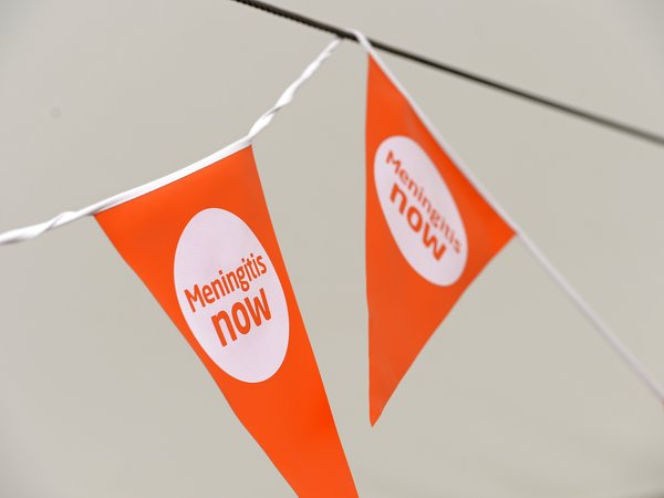 Meningitis Now fundraising awareness - Bunting