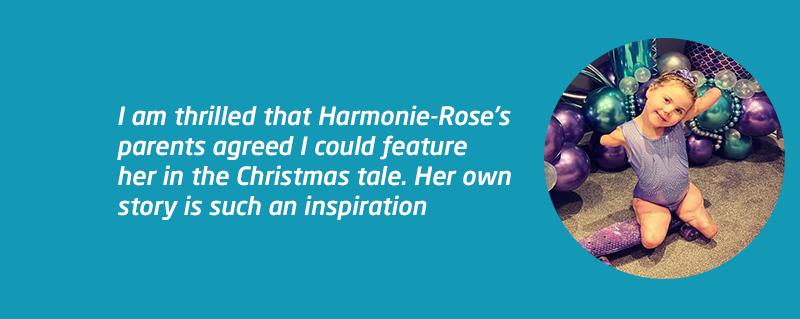 Meningitis Now Junior Ambassador Harmonie-Rose features in children's book