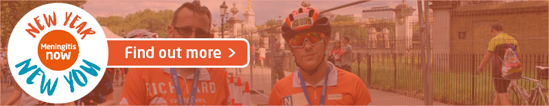 Meningitis Now New Year New You 2020 - Page Link Graphic RideLondon