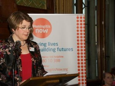 Meningitis Now campaign - Sue with petition