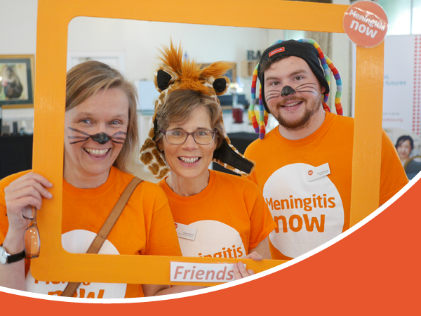 Meningitis Now Support Services link box - Support Events