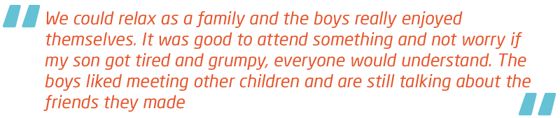 Meningitis Now Support quote - Family Days events