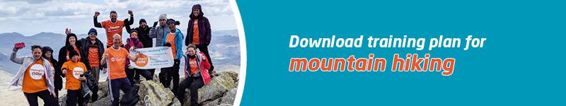 Meningitis Now Training Hub - Mountain Hiking - LB