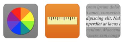 Meningitis Now accessibility - ReciteMe - Colour Ruler