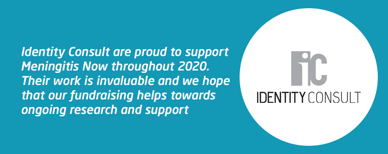 Meningitis Now corporate fundraising partner Identity Consult