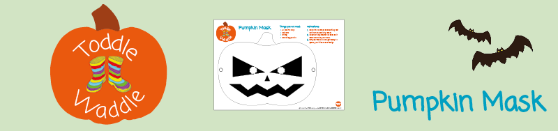 Meningitis Now fundraising events - Toddle Waddle Download link - Pumpkin Mask