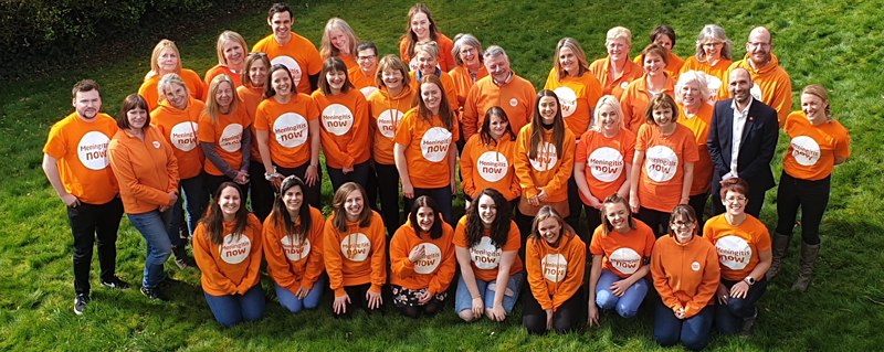 Meningitis Now staff group