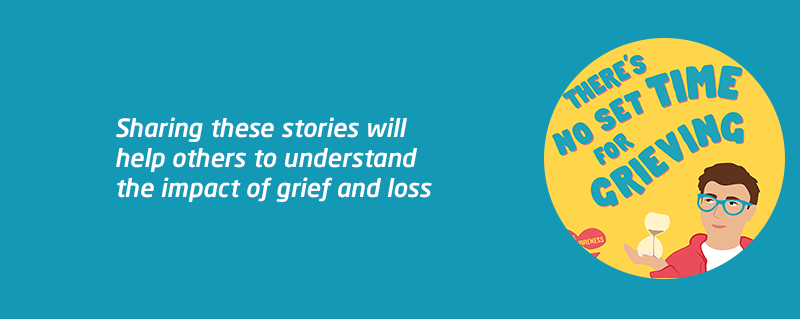 Meningitis Now support National Grief Awareness Week