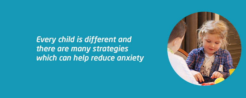 Meningitis Now support - tips for reducing child anxiety