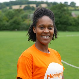 Meningitis Now staff - Michaela Ifill