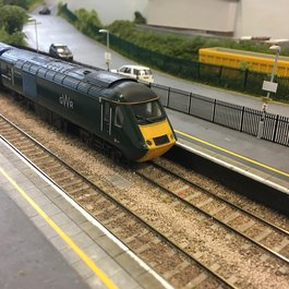 Model train to raise money after meningitis experience blog
