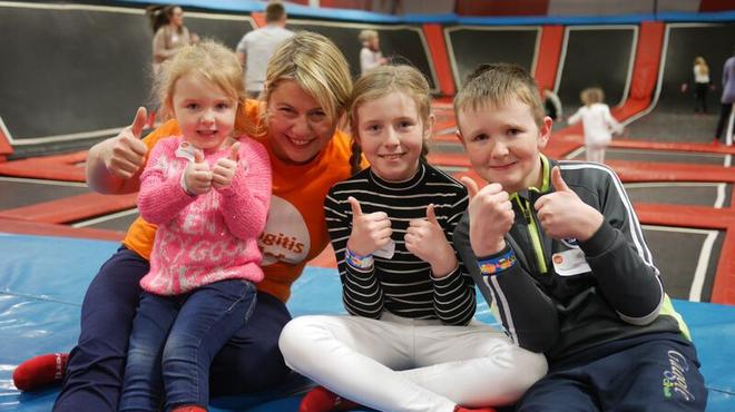 Meningitis Now support event - Northern Ireland Family Day