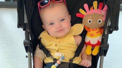 Niamh's pneumococcal meningitis story