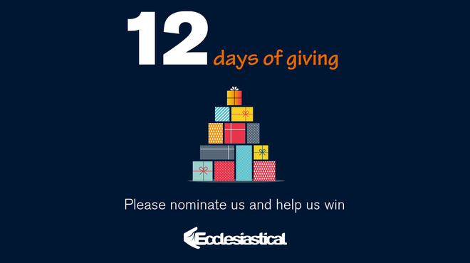 Nominate Meningitis Now for Ecclesiastical donation