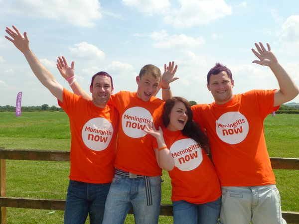 Meningitis Now fundraising - Skydive