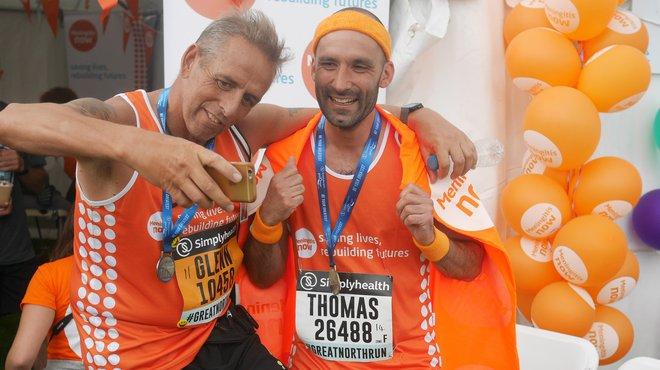 Meningitis Now event - Great North Run