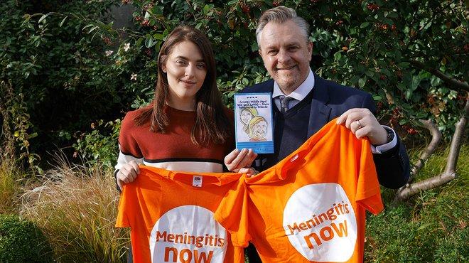 Grumpy Middle Aged Dad meningitis book blog