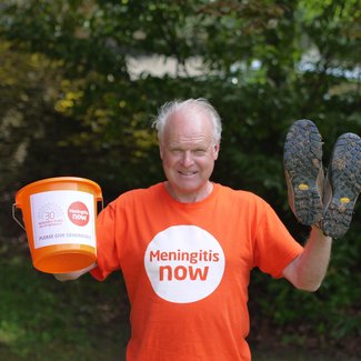 Meningitis Now founder Steve Dayman 30th Anniversary fundraising walk
